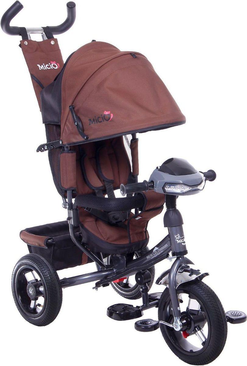 Micio Велосипед детский трехколесный Micio City Premium 2017 цвет коричневый -  Велосипеды-каталки