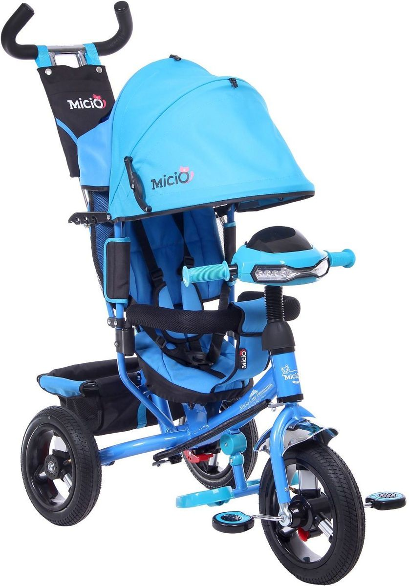 Micio Велосипед детский трехколесный Micio City Premium 2017 цвет синий -  Велосипеды-каталки