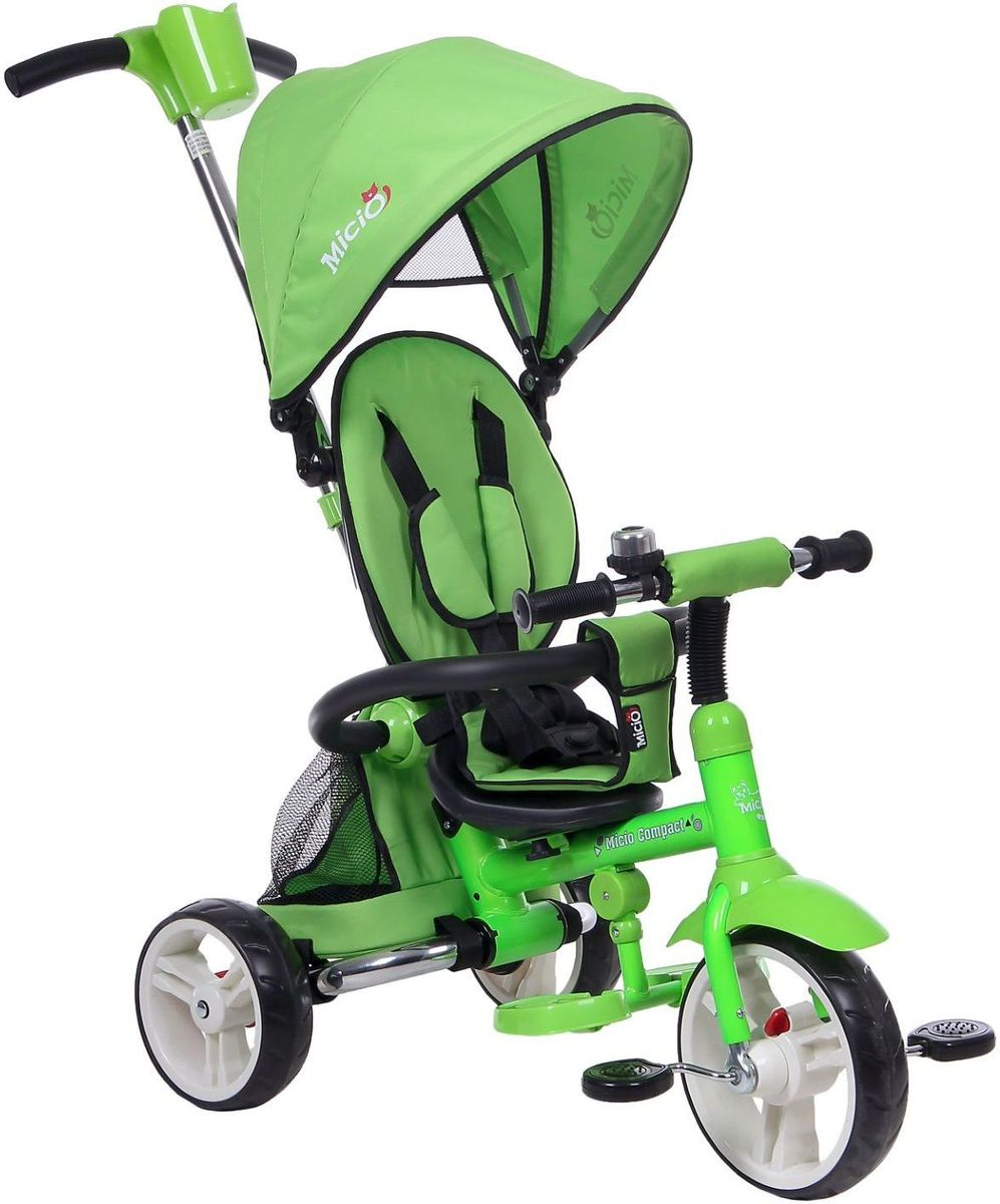 Micio Велосипед детский трехколесный Micio Compact 2017 цвет салатовый -  Велосипеды-каталки