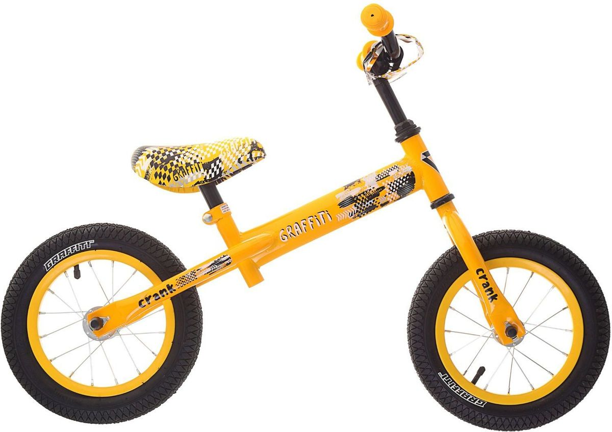 Graffiti Беговел детский Crank 2017 цвет желтый
