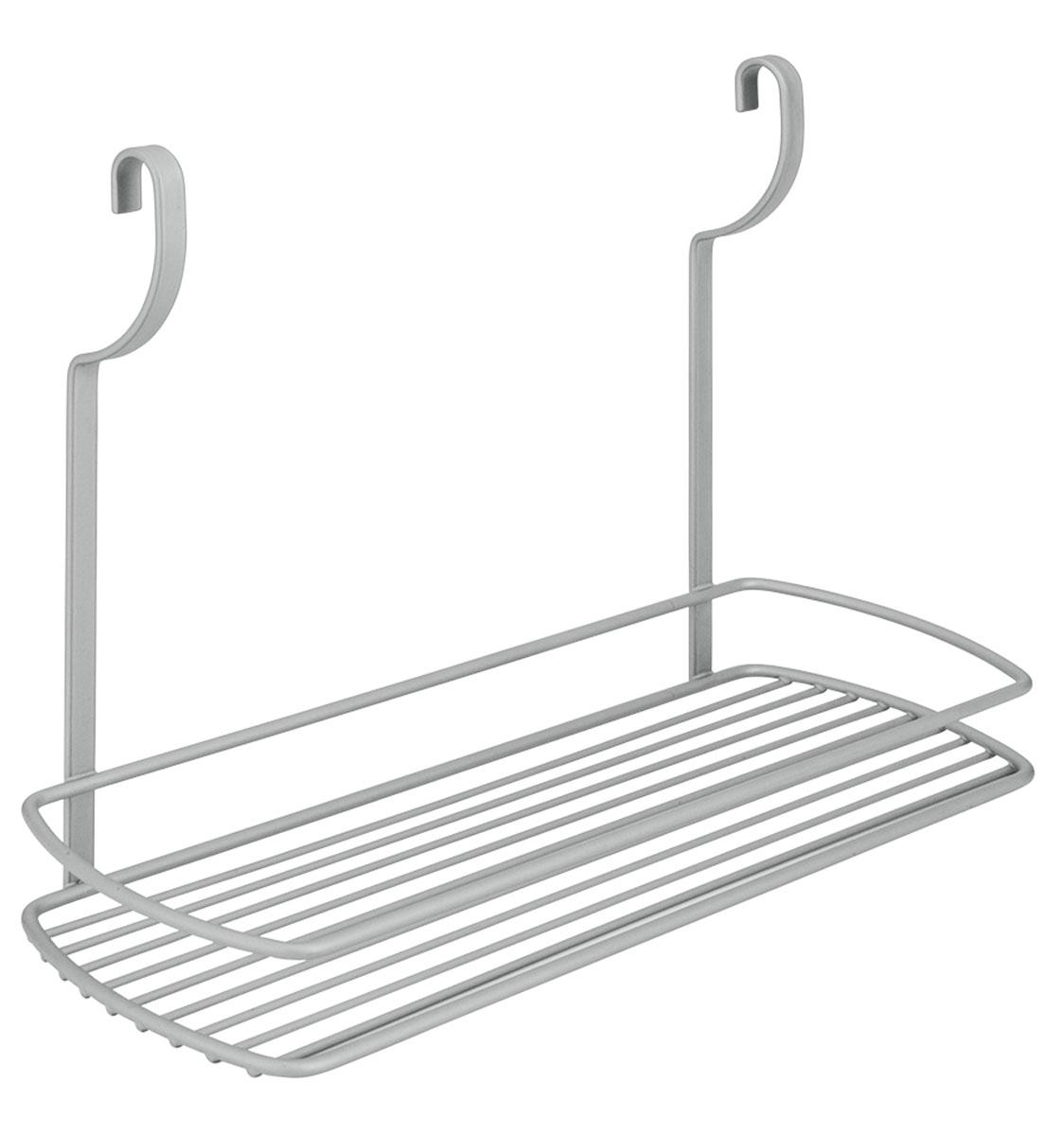 Полка навесная Metaltex City, 35 х 13 х 26 см35.07.10Навесная полка Metaltex City изготовлена из стали и покрыта новым полимерным покрытием Frost Polytherm. Такая полка не только экономит место на вашей кухне, но и обеспечивает наглядность, порядок и удобный доступ к кухонным принадлежностям.Современный дизайн делает ее практичным и стильным домашним аксессуаром. Она пригодится для хранения различных кухонных или других принадлежностей, которые всегда будут под рукой.Полка устанавливается на рейлинг с помощь двух крючков.
