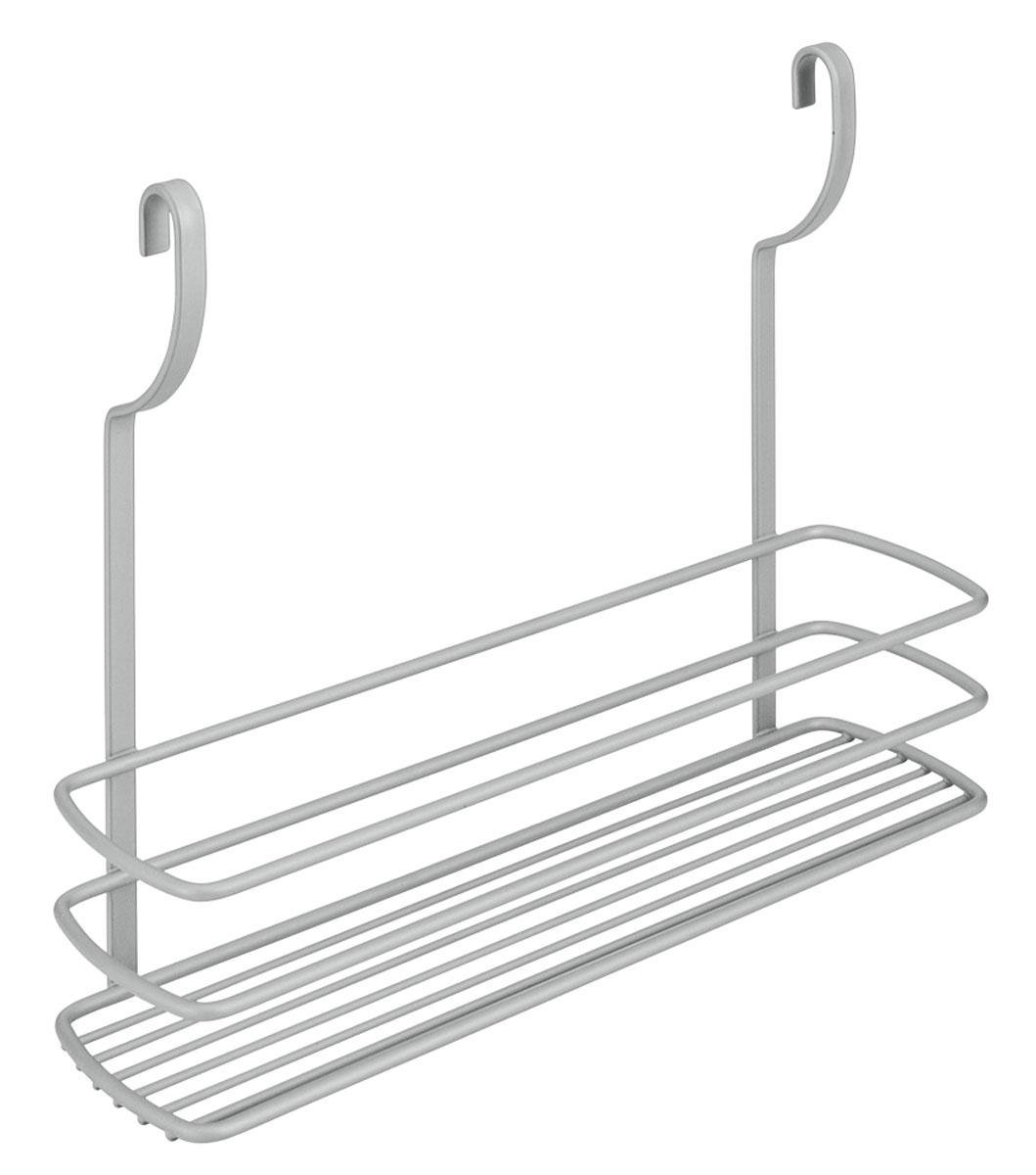 Полка навесная Metaltex City, 35 х 9 х 26 смВетерок 2ГФНавесная полка Metaltex City изготовлена из стали и покрыта новым полимерным покрытием Frost Polytherm. Такая полка не только экономит место на вашей кухне, но и обеспечивает наглядность, порядок и удобный доступ к кухонным принадлежностям.Современный дизайн делает ее практичным и стильным домашним аксессуаром. Она пригодится для хранения различных кухонных или других принадлежностей, которые всегда будут под рукой.Полка устанавливается на рейлинг с помощь двух крючков.