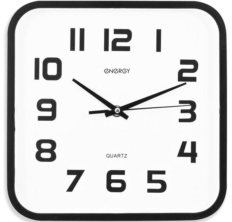 Energy ЕС-08 Квадратные настенные часыML-5379 White Часы настольные Велосипед белый большойНастенные кварцевые часы с плавным ходом Energy ЕС-08 имеют классический строгий дизайн и поэтому подойдут как для дома, так и для офиса. Крупные цифры черного цвета отлично различимы в условиях плохого освещения. Питание осуществляется от 1 батарейки типа АА (в комплект не входит).
