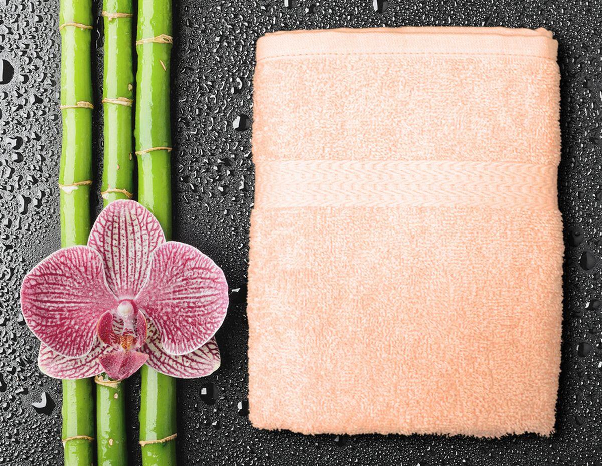 Полотенце Amore Mio GX Classic, цвет: персиковый, 50 х 90 см531-105Amore Mio GX Classic - это махровое полотенце отличного качества, оно выполнено из 100% хлопка. Яркие цвета выполнены качественным красителем BASF из Германии. Полотенце сохранит насыщенность цвета на долгое время. Мягкость и пушистость этого полотенца вас приятно удивит.