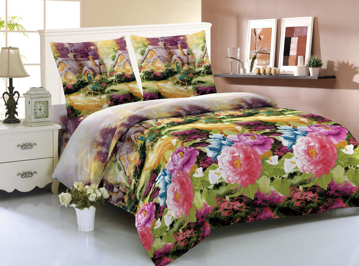 Комплект белья Amore Mio Xian, 1,5-спальный, наволочки 70x70FD-59Комплект постельного белья Amore Mio изготовлен из мако-сатина. Нано-инновации позволили открыть новую ткань, которая сочетает в себе широкий спектр отличных потребительских характеристик и невысокой стоимости. Легкая, плотная, мягкая ткань, приятна и обладает эффектом персиковой кожуры. Отлично стирается, гладится, быстро сохнет. Дисперсное крашение великолепно передает качество рисунков и необычайно устойчиво к истиранию.Комплект состоит из пододеяльника, простыни и двух наволочек.