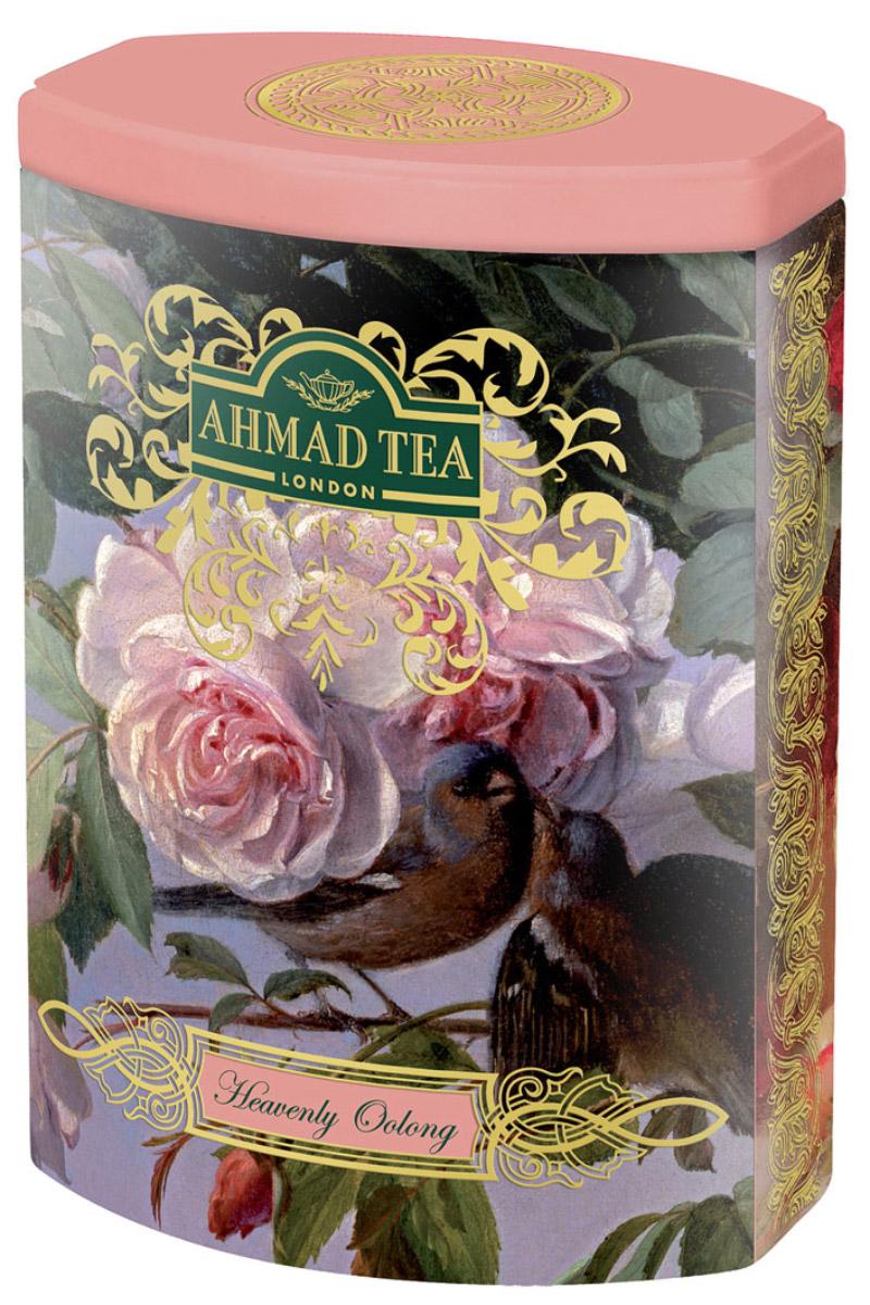 Ahmad Tea Heavenly Oolong зеленый чай, 100 г (жестяная банка)0120710Нежный чай, собранный на склонах гор провинции Фуцзянь в Китае, вобрал в себя свежесть горного воздуха, запах листвы и диких цветов. Улун относится к полуферментированным чаям. Он не содержит во вкусе горчинки и обладает утонченным карамельным послевкусием. Подобно винам, вкус улунов во многом зависит от конкретного места их произрастания: почвы, высоты, окружающих растений, количества полученной влаги и солнечного тепла. Чай Небесный Улун - истинное наслаждение для гурмана.