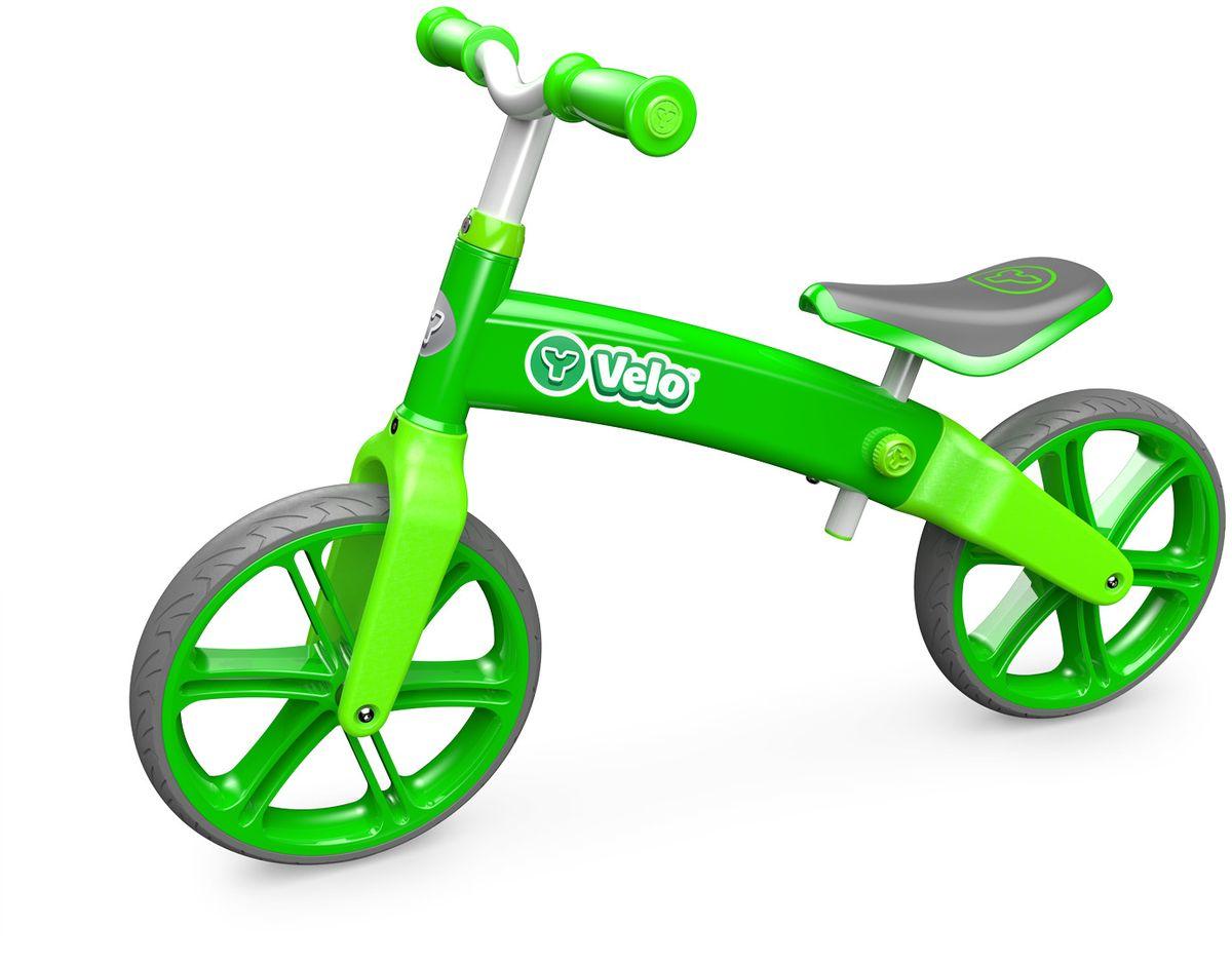 Y-Volution Беговел детский Velo Balance цвет зеленый