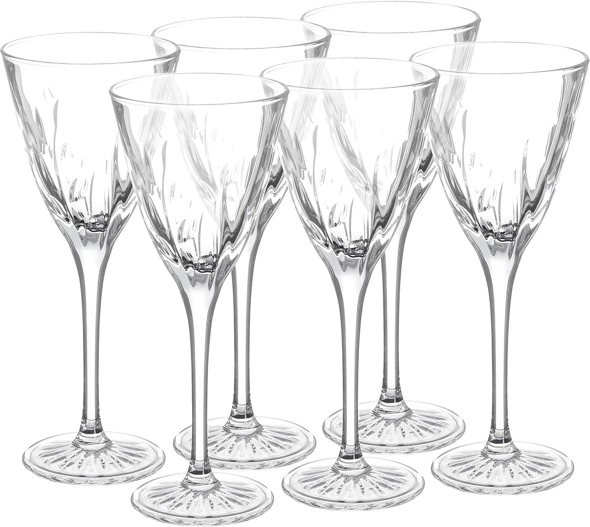 Набор рюмок Cristal dArques Cassandra, 60 мл, 6 шт4630003364517Набор Cristal dArques Cassandra состоит из 6 рюмок, изготовленных из прочного стекла. Изделия, предназначенные для подачи ликера и других спиртных напитков, несомненно придутся вам по душе. Рюмки сочетают в себе элегантный дизайн и функциональность. Набор рюмок Cristal dArques Cassandra идеально подойдет для сервировки стола и станет отличным подарком к любому празднику.Диаметр (по верхнему краю): 5,5 см.Высота: 14 см.Диаметр основания: 4,7 см.