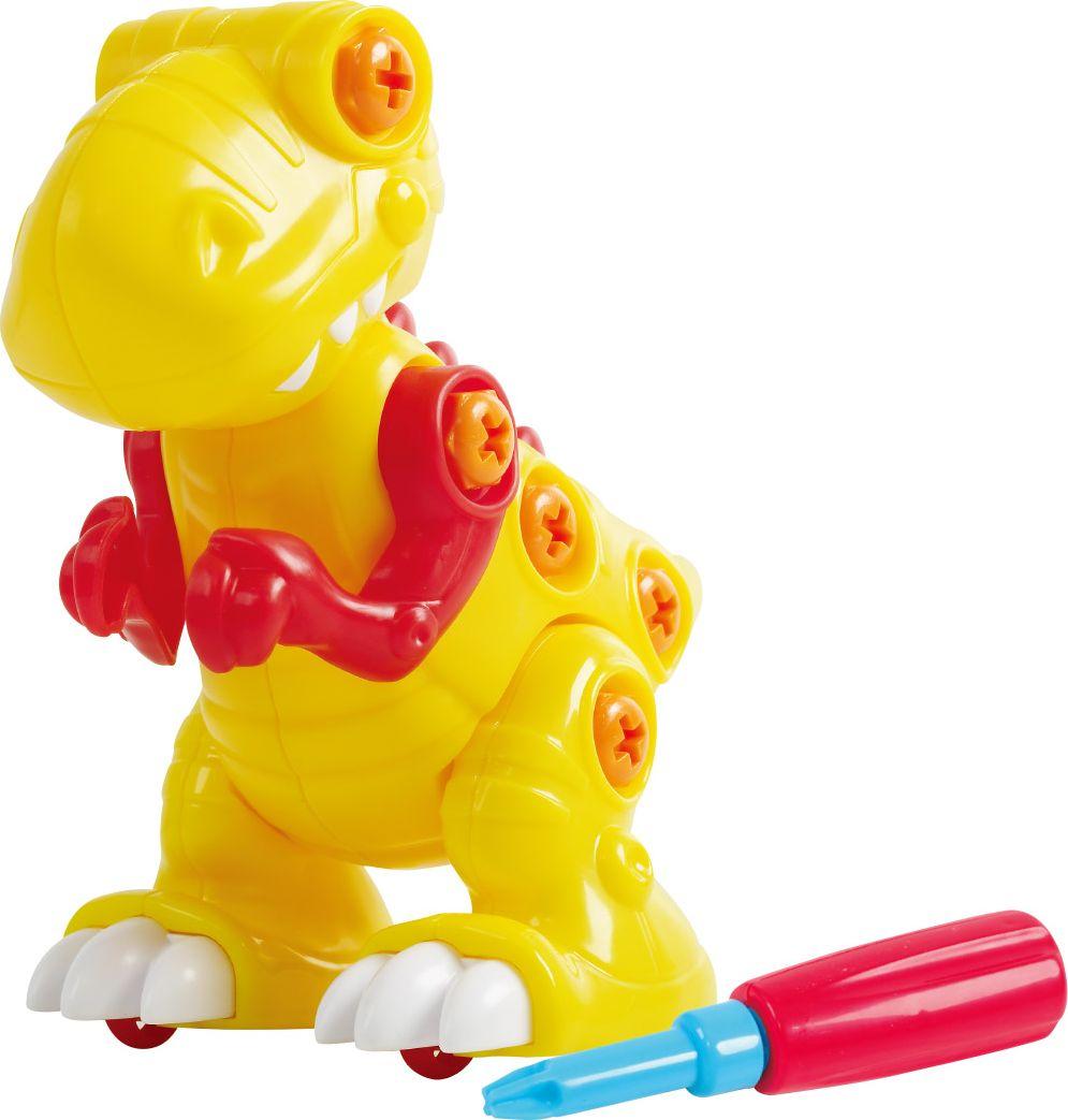 Playgo Конструктор Собери динозавра Play Тираннозавр play doh игровой набор магазинчик домашних питомцев