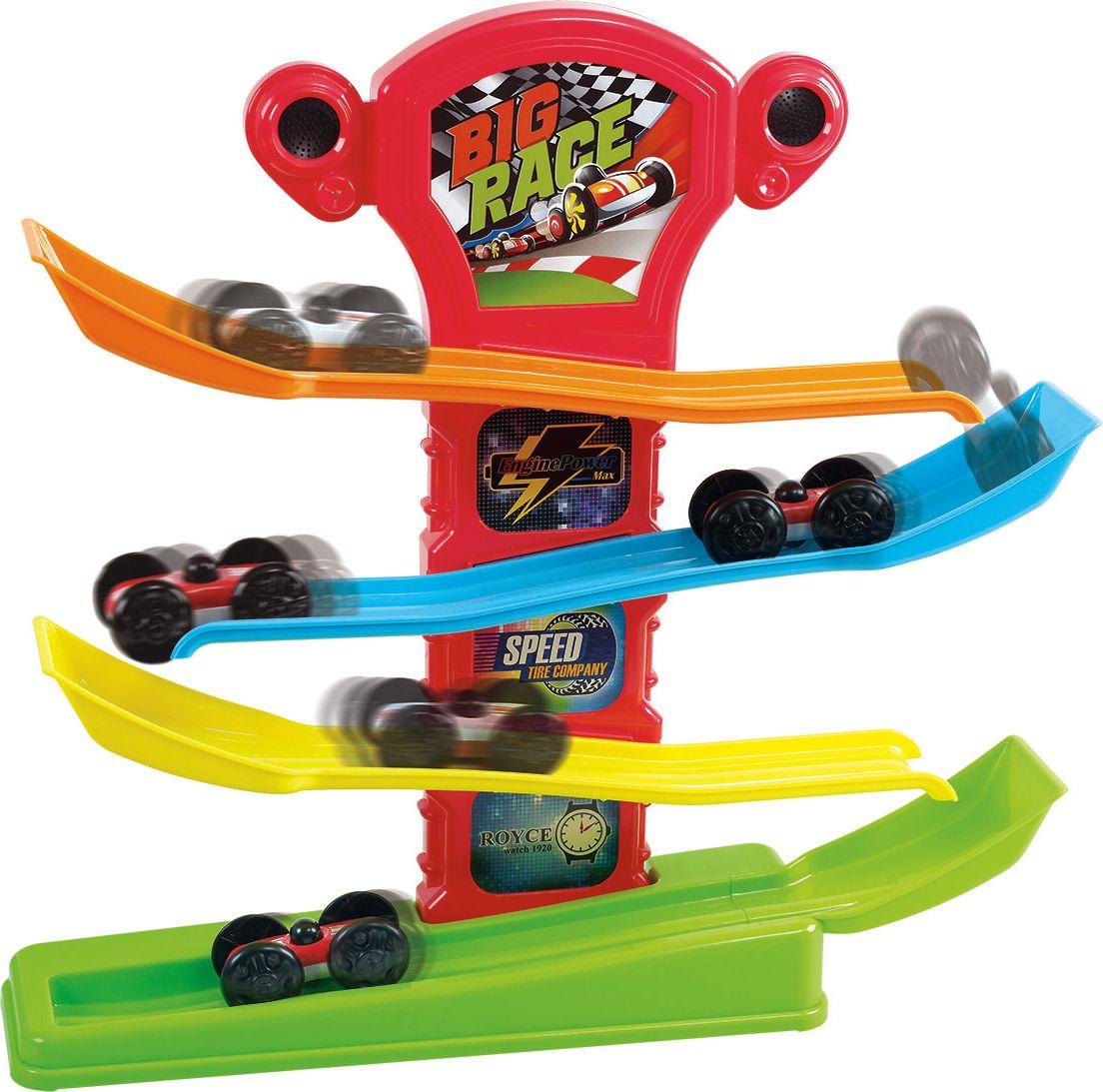 Playgo Игрушечный трек с машинками