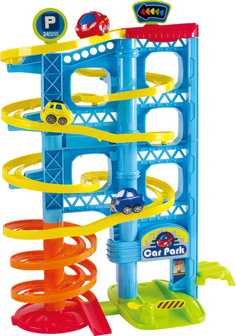 Playgo Развивающий центр Игровая парковка 3 уровня