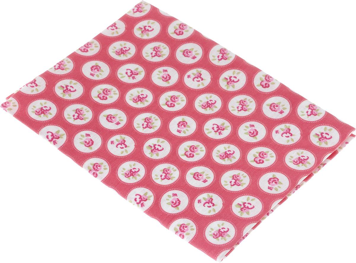 Ткань Кустарь Садовые цветы №6, 48 х 50 см. AM599006889292Ткань Кустарь - это высококачественная ткань из 100% хлопка, которая отлично подходит для пошива покрывал, сумок, панно, одежды, кукол. Также подходит для рукоделия в стиле скрапбукинг и пэчворк.Плотность ткани:120 г/м2. Размер: 48 х 50 см.