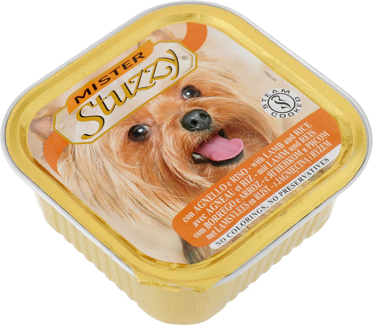 Консервы для собак Stuzzy Mister, с ягненком и рисом, 150 г130.4.026Stuzzy Mister - это полнорационный корм для взрослых собак. Корм обогащен таурином и витамином Е для поддержания правильной работы сердца и иммунной системы. Инулин обеспечивает всасывание питательных веществ, а биотин способствуют великолепному внешнему виду кожи и шерсти. Корм приготовлен на пару, не содержит красителей и консервантов. Товар сертифицирован.