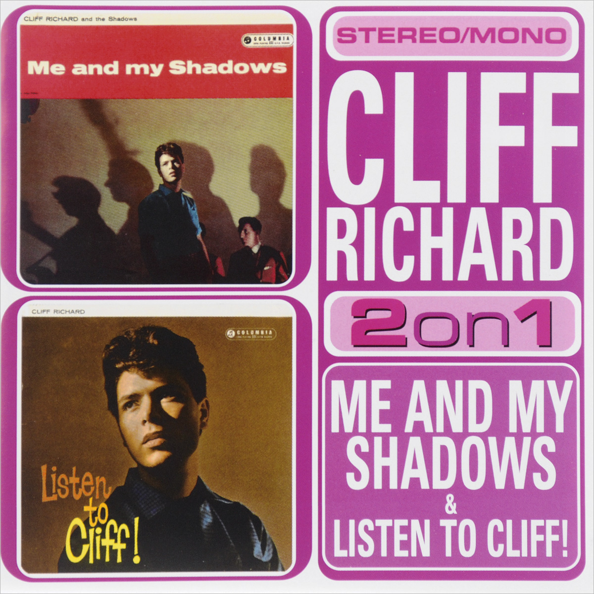 Клифф Ричард Cliff Richard. Me And My Shadows / Listen To Cliff cliff xyb 211
