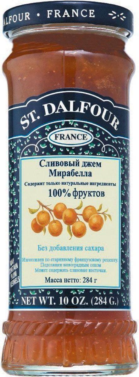 St.Dalfour Джем Слива Мирабелла, 284 г10.52.05Без добавления сахара, консервантов, искусственных ароматизаторов и красителей. Содержит только натуральные ингредиенты.