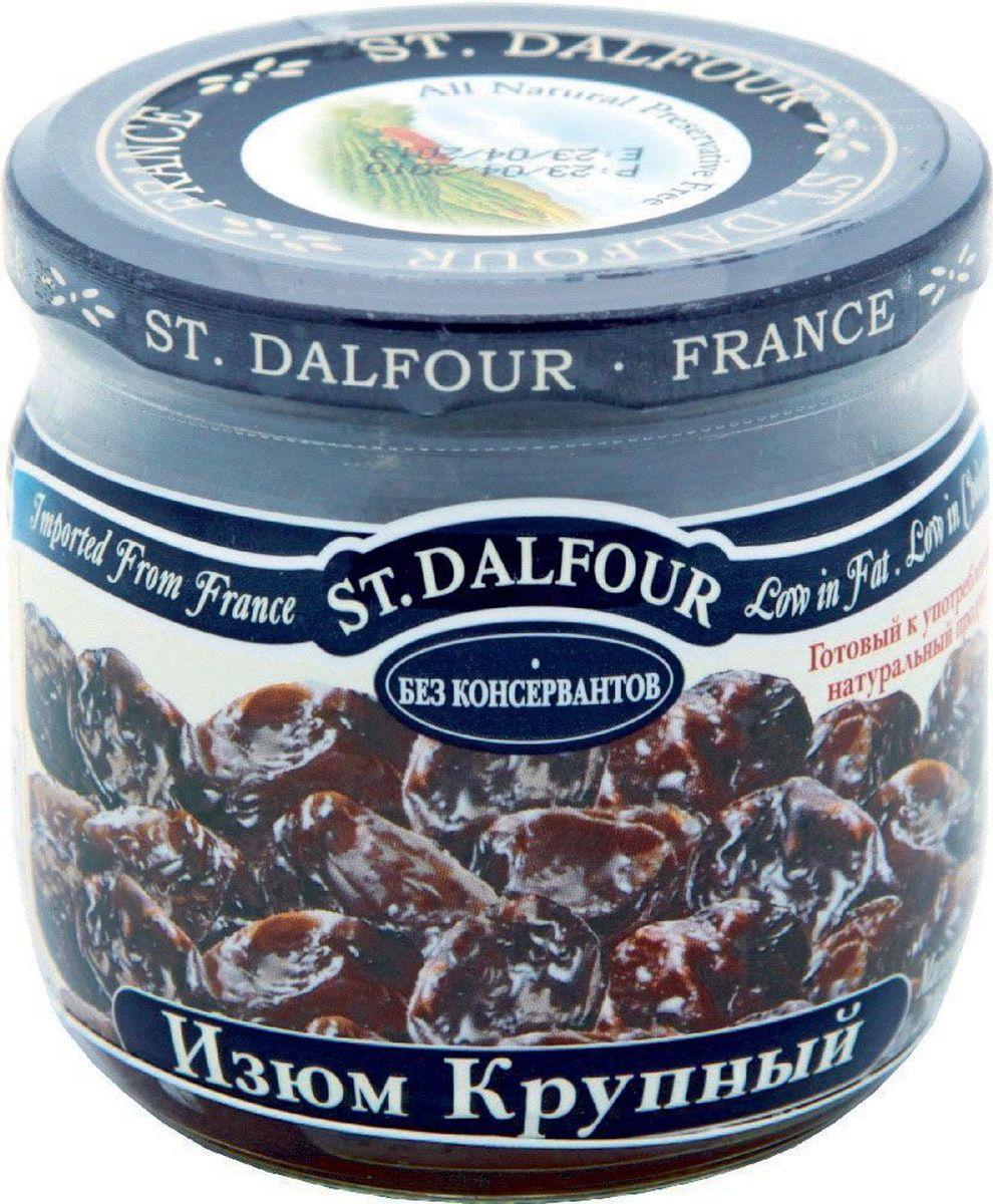 St.Dalfour Изюм крупный, 200 г0120710Крупный изюм изготовлен без консервантов. Оптимальный технологический процесс позволяет сохранить нежность и сочность изюма. Он не пересушенный и не жесткий. Это – лучший изюм в мире!
