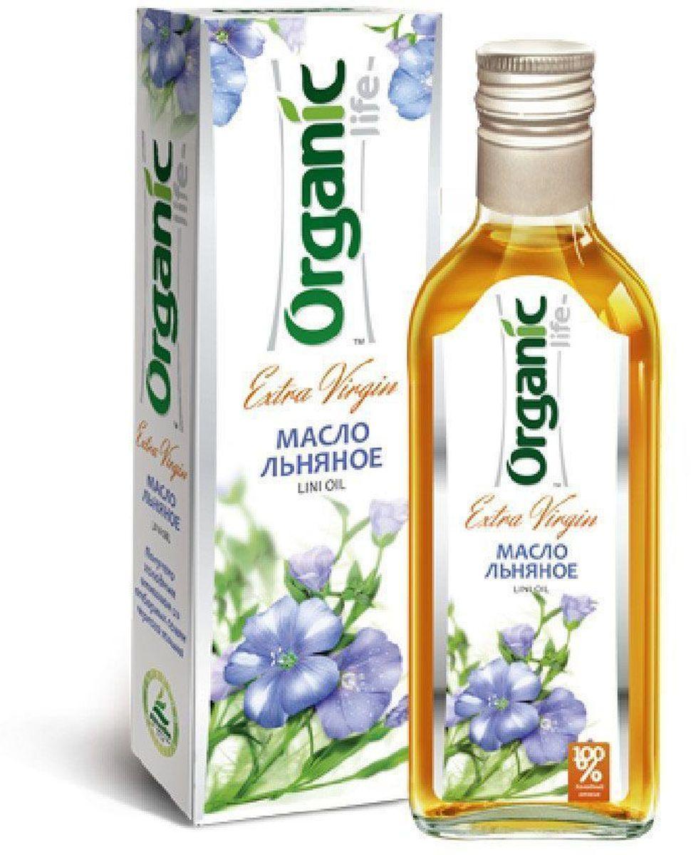 Organic Life масло льняное, 250 мл212027Льняное масло – натуральный диетический продукт, изготовленный методом холодного прессования семян льна. Ценный источник жирных кислот (омега-3, омега-6, омега-9) и витаминов. Эти кислоты входят в состав клеточных мембран и обеспечивают нормальное поступление кислорода и питательных веществ в каждую клетку. Льняное масло содержит огромное количество витаминов В1, В2, С, Е, а также богато селеном, хромом, кремнием и является рекордсменом по содержанию полиненасыщенных жирных кислот, которые человек может получать только из пищи.