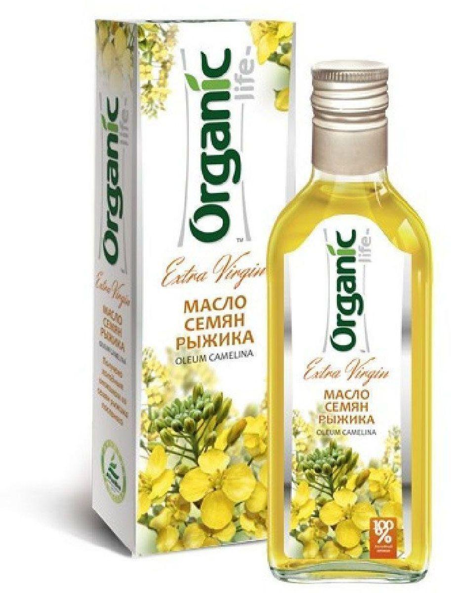 Organic Life масло рыжиковое, 250 мл0120710Рыжиковое масло (из семян рыжика – растения семейства крестоцветных, - собранного на полях Алтайского края) содержит Омега-3 и Омега-6 полиненасыщенные жирные кислоты, большое количество природного антиоксиданта витамина Е, магний (важный элемент для здоровья сердца). Все эти компоненты делают рыжиковое масло полезной приправой к любому блюду. Масло рыжика обладает пикантным вкусом, немного напоминающим терпкий вкус редьки и хрена. Оно разнообразит ваш рацион, и сделает блюда традиционной русской кухни еще вкуснее и полезнее. Рыжиковое масло издавна использовалось на Руси, отлично подходит к традиционным русским блюдам: отварной картошке, квашеной капусте, соленым грибочкам, винегрету. На рыжиковом масле можно приготовить драники и гренки. Способ применения: по 1 ч.л. 2-3 раза в день.