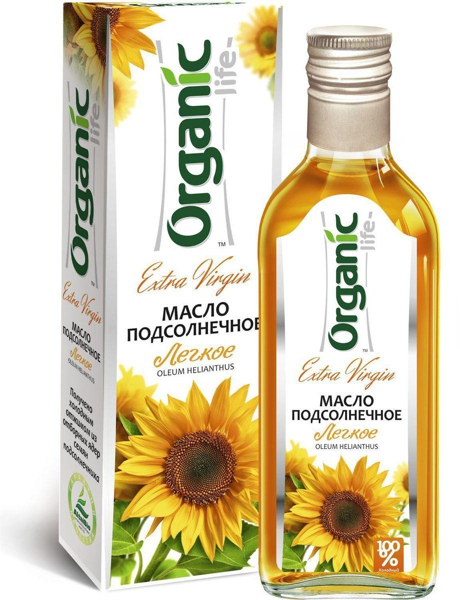 Organic Life масло подсолнечное Легкое, 250 мл0120710Подсолнечное масло Легкое марки Organic Life из отборных семян подсолнечника особых сортов получено методом холодного отжима. Именно такой способ изготовления позволяет сохранить все полезные свойства и изысканные вкусовые качества масла, отличающегося нежным вкусом и ароматом. Мощный антиоксидант витамин Е замедляет старение клеток и делает подсолнечное масло омолаживающим продуктом. Линолевая кислота способствует укреплению иммунной защиты организма. А витамины А и D нужны для поддержания в норме зрения, хорошего состояния костей и кожи. Заправляйте салаты или готовьте любимые блюда с Легким подсолнечным маслом и вы будете здоровы и молоды.