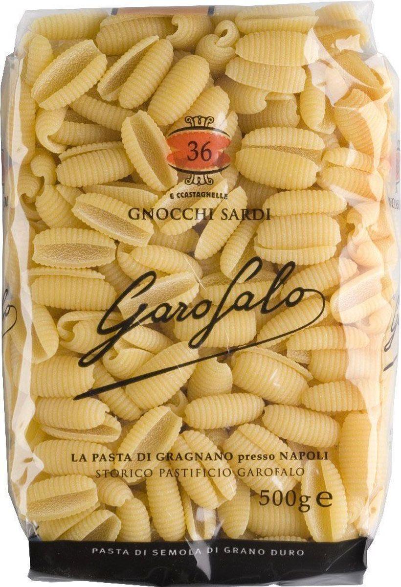 Garofalo Гноччи Сарди клецки рифленые № 36, 500 г24Клецки рифленые используются как гарнир и как основное блюдо, подаются обычно с томатными соусами, но подойдет и любой другой.