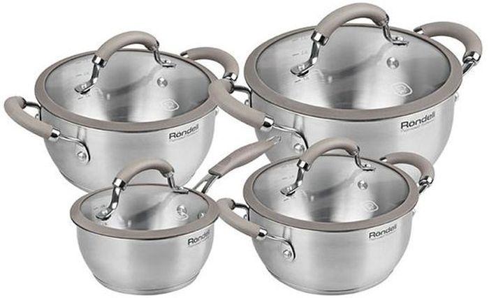 Набор посуды Rondell Balance, 8 предметов. RDS-75668/5/4Набор посуды Rondell 8 предметов Balance