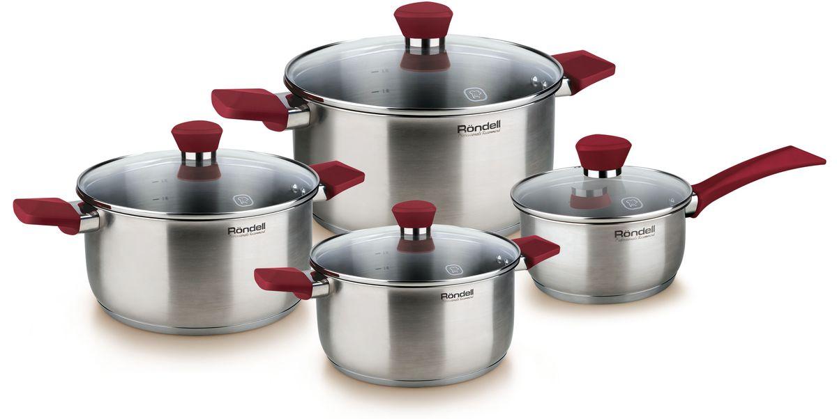 Набор посуды Rondell Strike, 8 предметов. RDS-818
