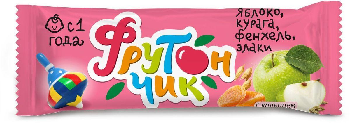 Фрутончик Батончик фруктовый со злаками, яблоко, курага, фенхель, злаки, 20 г5060295130016Это полезный и вкусный перекус для вашего малыша. Посудите сами: в его составе фрукты, ягоды, злаки и сок черной смородины, полезные для растущего организма.Кроме того, батончик обогащен кальцием, необходимым для формирования опорно-двигательного аппарата и зубной эмали, правильной работы центральной нервной системы и сердца.Батончик обладает прекрасным вкусом – нам удалось этого достичь благодаря сочетанию яблока, кураги и фенхеля.Это идеальный перекус в дороге или на прогулке!Фрутончик не содержит ГМО, искусственных красителей, усилителей вкуса, консервантов;Имеет свидетельство о государственной регистрации, подтверждающее его безопасность и соответствие действующему законодательству;Разрешен детям старше 1 года.