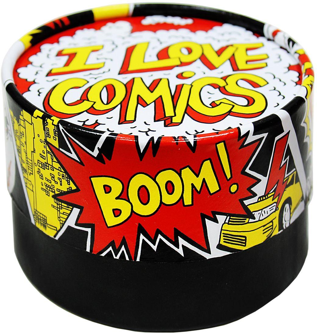 Вкусная помощь Стильные штучки Для настоящих ценителей, 115 г0120710Стильные штучки Для истинных ценителей - это микс супержвачки, который отлично впишется даже в брутальный образ.Яркая, креативная упаковка привлекает внимание издалека. Всем захочется узнать, что внутри и попробовать это на вкус.Надпись на упаковке гласит: I love comics – смело обозначая игривый настрой и неординарный стиль.Оригинальный подарок для девушек и для парнейСтанет необычным комплиментом одноклассникам, друзьям, коллегам.Предназначается для всех, у кого есть верные товарищи, кто ценит дружбу и всегда придет на выручку.Если необходимо кого-то отблагодарить - стильные штучки Для истинных ценителей отличный символический подарок.Мир, дружба, жвачка – лозунг молодости на века.