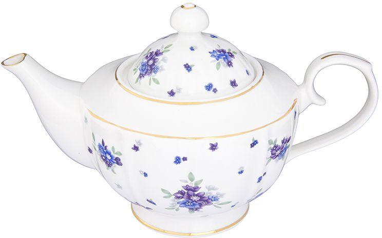Чайник заварочный Elan Gallery Сиреневый туман, на ножке, 1,1 л115510Изысканный заварочный чайник украсит сервировку стола к чаепитию. Благодаря красивому утонченному дизайну и качеству исполнения он станет хорошим подарком друзьям и близким. Объем 1100 мл. Изделие в подарочной упаковке.