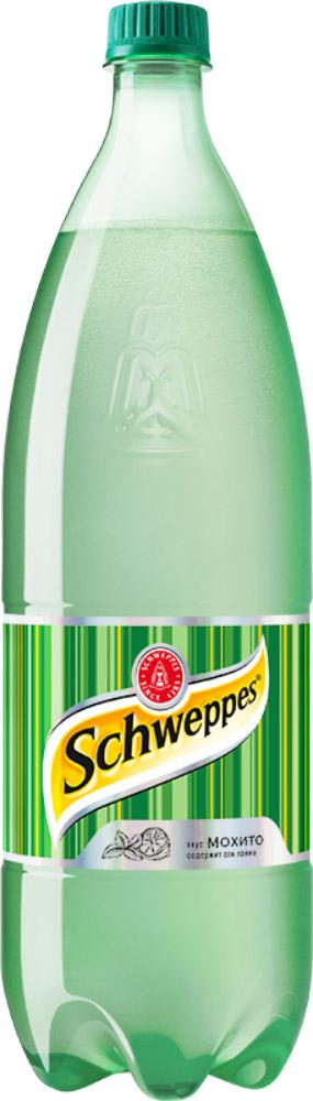 Schweppes Мохито напиток сильногазированный, 1,5 л436904Schweppes Мохито – освежающий напиток со вкусом лайма и мяты с традиционной для Schweppes горчинкой. Это изысканный продукт, пополнивший портфель бренда Schweppes в 2015 году.Уважаемые клиенты! Обращаем ваше внимание, что полный перечень состава продукта представлен на дополнительном изображении.Упаковка может иметь несколько видов дизайна. Поставка осуществляется в зависимости от наличия на складе.