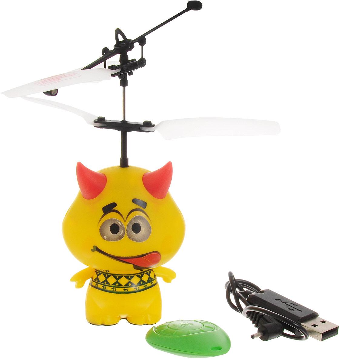 Balbi Мини-флаер на инфракрасном управлении Чертик с языком - Радиоуправляемые игрушки
