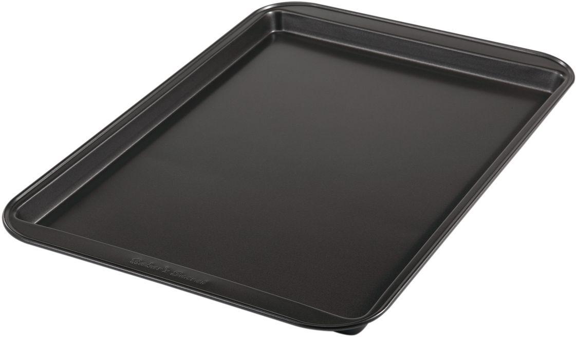 Форма для выпечки печенья Bakers Secret Essentials, 33 х 23 см, цвет: темно-серый. 111441154 009312Коллекция форм для выпечки тортов Bakers Secret из США являются хорошим приобретением любой хозяйки. Данные товары пользуются спросом, поскольку их отличает высокое качество. Формы для запекания Bakers Secret - выполнены из высококачественной стали. Внешнее антипригарное покрытие для удобства ухода и утолщенные стенки гарантируют равномерное пропекание изделия. Стальные формы для запекания стали популярными намного позже чугунных и керамических, и главное их преимущество – это абсолютная химическая нейтральность. Качественная нержавеющая сталь никак не скажется на вкусе готовой пищи и не будет подвержена воздействию кислот и щелочей, содержащихся в моющих средствах. Можно мыть в посудомоечной машине.