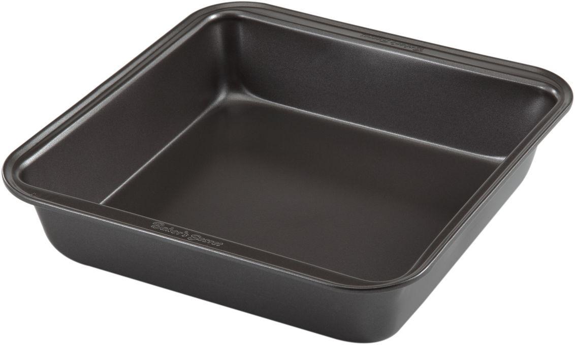 Форма для выпечки Bakers Secret Essentials, 20,3 х 20,3 см, цвет: темно-серый. 111443654 009312Коллекция форм для выпечки тортов Bakers Secret из США являются хорошим приобретением любой хозяйки. Данные товары пользуются спросом, поскольку их отличает высокое качество. Формы для запекания Bakers Secret - выполнены из высококачественной стали. Внешнее антипригарное покрытие для удобства ухода и утолщенные стенки гарантируют равномерное пропекание изделия. Стальные формы для запекания стали популярными намного позже чугунных и керамических, и главное их преимущество – это абсолютная химическая нейтральность. Качественная нержавеющая сталь никак не скажется на вкусе готовой пищи и не будет подвержена воздействию кислот и щелочей, содержащихся в моющих средствах. Можно мыть в посудомоечной машине.