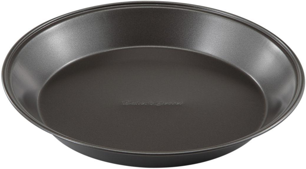 Форма для выпечки пирога Bakers Secret Essentials, 23 см, цвет: темно-серый. 111444054 009312Коллекция форм для выпечки тортов Bakers Secret из США являются хорошим приобретением любой хозяйки. Данные товары пользуются спросом, поскольку их отличает высокое качество. Формы для запекания Bakers Secret - выполнены из высококачественной стали. Внешнее антипригарное покрытие для удобства ухода и утолщенные стенки гарантируют равномерное пропекание изделия. Стальные формы для запекания стали популярными намного позже чугунных и керамических, и главное их преимущество – это абсолютная химическая нейтральность. Качественная нержавеющая сталь никак не скажется на вкусе готовой пищи и не будет подвержена воздействию кислот и щелочей, содержащихся в моющих средствах. Можно мыть в посудомоечной машине.