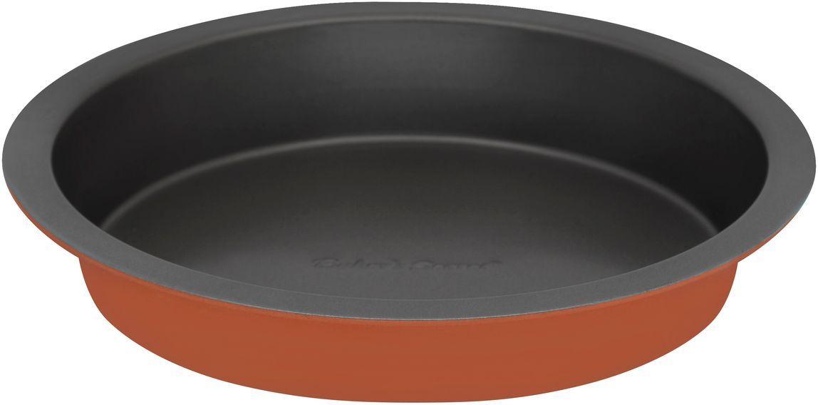 Форма для выпечки Bakers Secret Colors. Pumpkin, диаметр 20,3 см, цвет: оранжевый. 1115727FS-91909Коллекция форм для выпечки тортов Bakers Secret из США являются хорошим приобретением любой хозяйки. Данные товары пользуются спросом, поскольку их отличает высокое качество. Формы для запекания Bakers Secret - выполнены из высококачественной стали. Внешнее антипригарное покрытие для удобства ухода и утолщенные стенки гарантируют равномерное пропекание изделия. Стальные формы для запекания стали популярными намного позже чугунных и керамических, и главное их преимущество – это абсолютная химическая нейтральность. Качественная нержавеющая сталь никак не скажется на вкусе готовой пищи и не будет подвержена воздействию кислот и щелочей, содержащихся в моющих средствах. Можно мыть в посудомоечной машине.