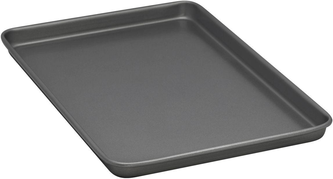 Форма для выпечки печенья Bakers Secret Essentials, 25,4 х 38,1 см, цвет: серый. 1116750FS-91909Коллекция форм для выпечки тортов Bakers Secret из США являются хорошим приобретением любой хозяйки. Данные товары пользуются спросом, поскольку их отличает высокое качество. Формы для запекания Bakers Secret - выполнены из высококачественной стали. Внешнее антипригарное покрытие для удобства ухода и утолщенные стенки гарантируют равномерное пропекание изделия. Стальные формы для запекания стали популярными намного позже чугунных и керамических, и главное их преимущество – это абсолютная химическая нейтральность. Качественная нержавеющая сталь никак не скажется на вкусе готовой пищи и не будет подвержена воздействию кислот и щелочей, содержащихся в моющих средствах. Можно мыть в посудомоечной машине.