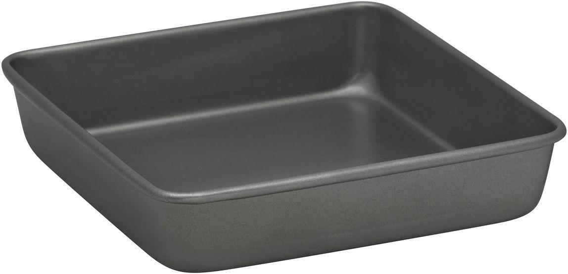 Форма для выпечки Bakers Secret Essentials, 22,2 х 22,2 см, цвет: серый. 111676494672Коллекция форм для выпечки тортов Bakers Secret из США являются хорошим приобретением любой хозяйки. Данные товары пользуются спросом, поскольку их отличает высокое качество. Формы для запекания Bakers Secret - выполнены из высококачественной стали. Внешнее антипригарное покрытие для удобства ухода и утолщенные стенки гарантируют равномерное пропекание изделия. Стальные формы для запекания стали популярными намного позже чугунных и керамических, и главное их преимущество – это абсолютная химическая нейтральность. Качественная нержавеющая сталь никак не скажется на вкусе готовой пищи и не будет подвержена воздействию кислот и щелочей, содержащихся в моющих средствах. Можно мыть в посудомоечной машине.
