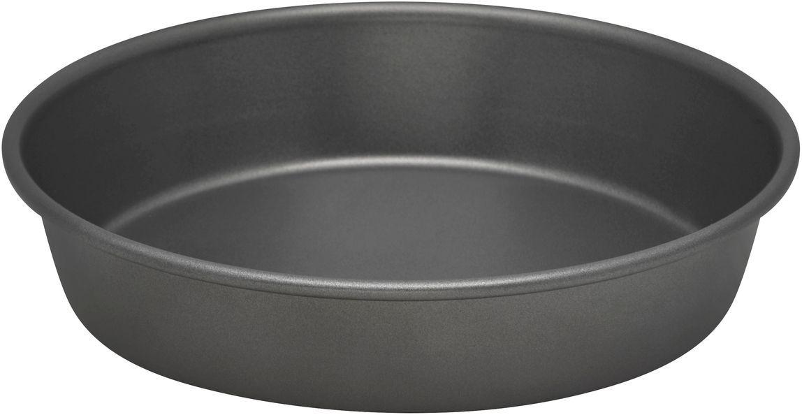 Форма для выпечки Bakers Secret Essentials, диаметр 23 см, цвет: серый. 111676554 009312Коллекция форм для выпечки тортов Bakers Secret из США являются хорошим приобретением любой хозяйки. Данные товары пользуются спросом, поскольку их отличает высокое качество. Формы для запекания Bakers Secret - выполнены из высококачественной стали. Внешнее антипригарное покрытие для удобства ухода и утолщенные стенки гарантируют равномерное пропекание изделия. Стальные формы для запекания стали популярными намного позже чугунных и керамических, и главное их преимущество – это абсолютная химическая нейтральность. Качественная нержавеющая сталь никак не скажется на вкусе готовой пищи и не будет подвержена воздействию кислот и щелочей, содержащихся в моющих средствах. Можно мыть в посудомоечной машине.