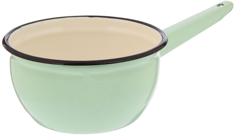 Ковш Epos Мятная прохлада, с эмалированным покрытием, 1,5 л2179358Ковш Epos Мятная прохлада изготовлен из высококачественной стали с эмалированным покрытием.Пища не пригорает и не прилипает к стенкам и дну посуды. На ручке предусмотрено отверстие для подвешивания.От хорошей кухонной утвари зависит половина успеха аппетитного блюда. Чтобы еда была вкусной, важно ее правильно приготовить и сервировать. Вся посуда бренда Epos изготовлена из проверенных материалов, безопасна в использовании, будет долго радовать вас своим внешним видом и высоким качеством. Объем: 1,5 л.