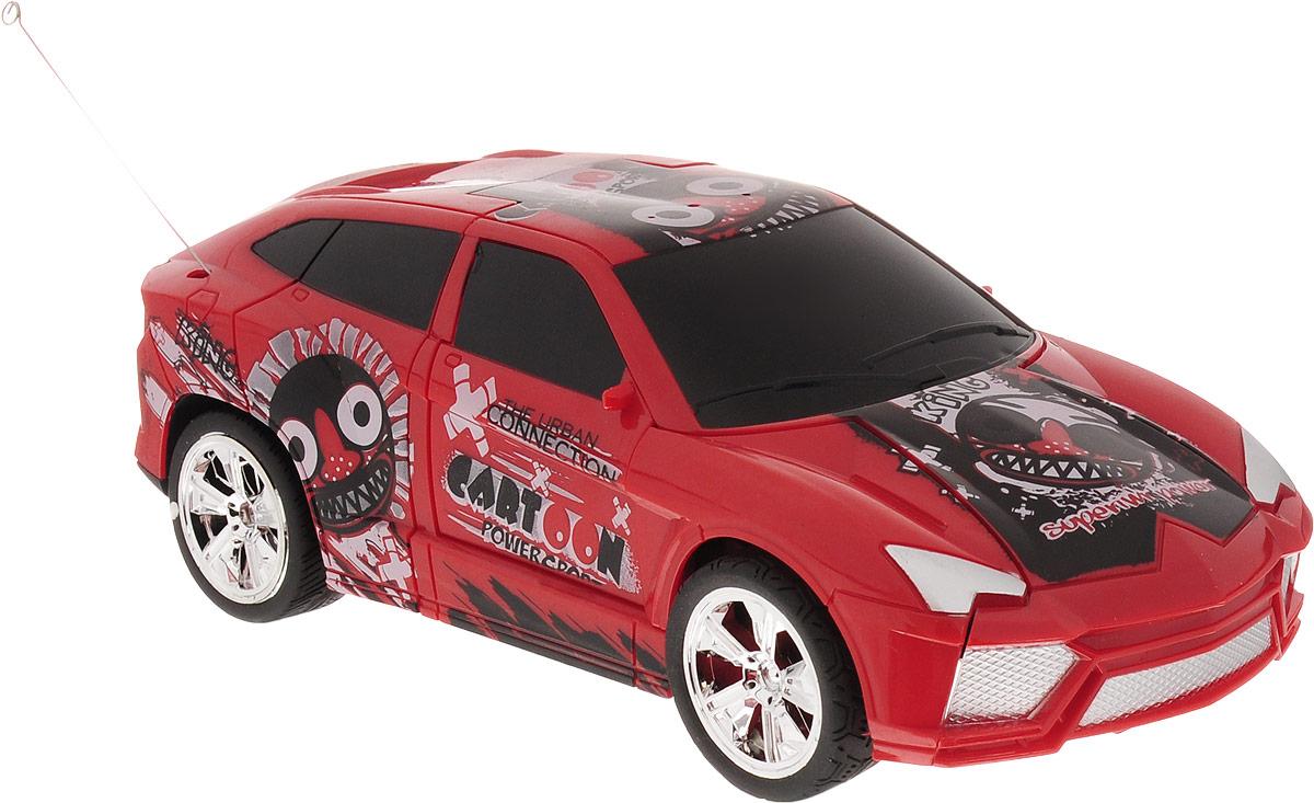 Balbi Машина-трансформер на радиоуправлении цвет красный сигналы приколы на авто где купить