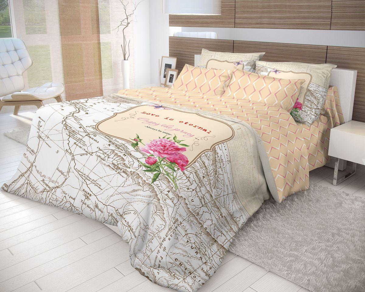 Комплект белья Волшебная ночь Map, евро, наволочки 50х70, цвет: белый, оранжевыйS03301004Роскошный комплект постельного белья Волшебная ночь Map выполнен из натурального ранфорса (100% хлопка) и оформлен оригинальным рисунком. Комплект состоит из пододеяльника, простыни и двух наволочек. Ранфорс - это новая современная гипоаллергенная ткань из натуральных хлопковых волокон, которая прекрасно впитывает влагу, очень проста в уходе, а за счет высокой прочности способна выдерживать большое количество стирок. Высочайшее качество материала гарантирует безопасность.