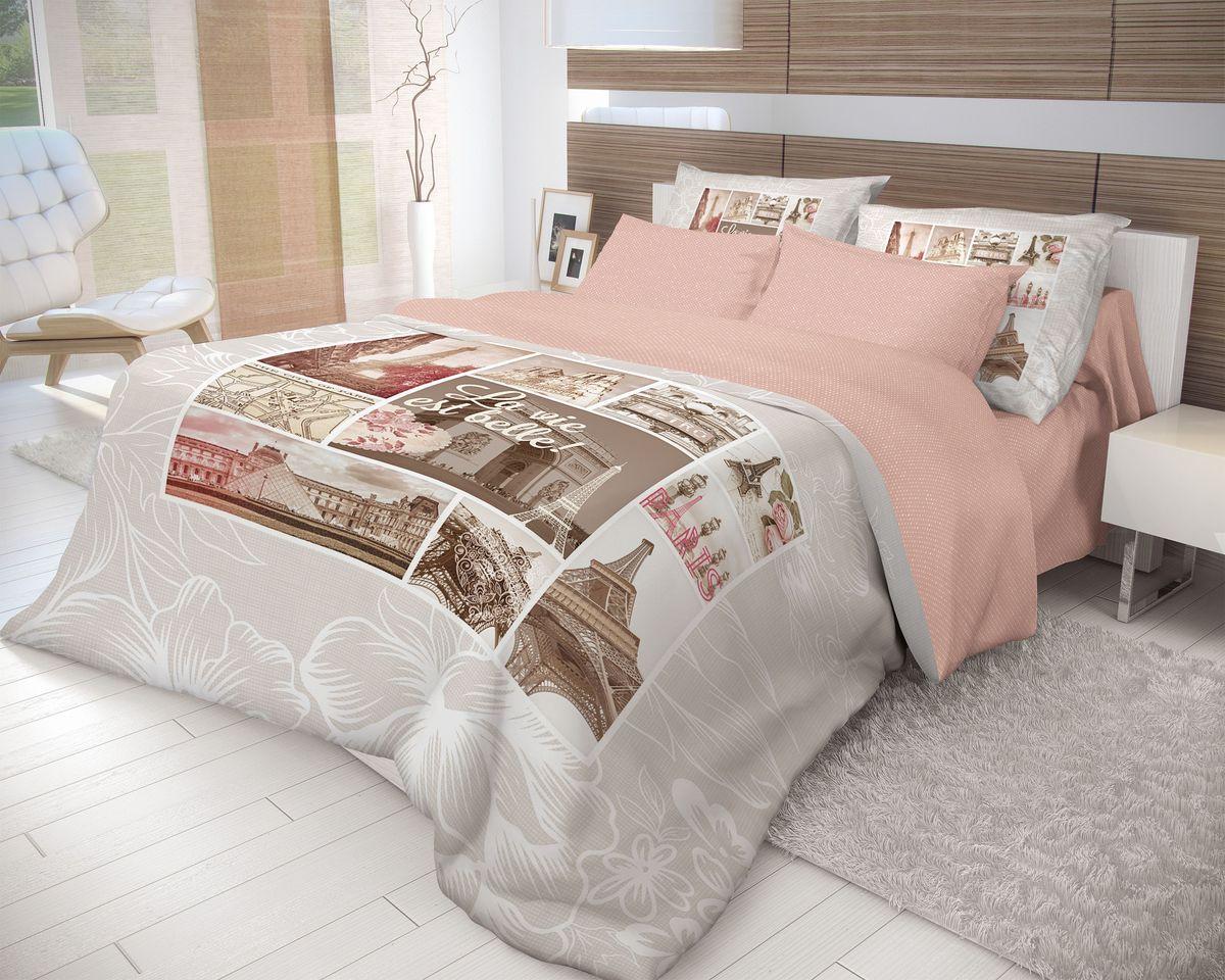 Комплект белья Волшебная ночь Lafler, 2-спальный с простыней на резинке, наволочки 70 х70, цвет: темно-коричневый, темно-бежевый, коралловый. 710567391602Роскошный комплект постельного белья Волшебная ночь Lafler выполнен из натурального ранфорса (100% хлопка) и оформлен оригинальным рисунком. Комплект состоит из пододеяльника, простыни и двух наволочек. Ранфорс - это новая современная гипоаллергенная ткань из натуральных хлопковых волокон, которая прекрасно впитывает влагу, очень проста в уходе, а за счет высокой прочности способна выдерживать большое количество стирок. Высочайшее качество материала гарантирует безопасность.