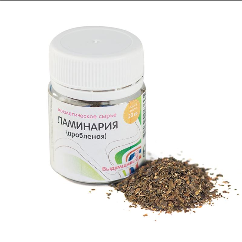 Ламинария Выдумщики, дробленая , 20 гSS 4041Ламинария- это натуральный скраб с мощным антицеллюлитным эффектом. Часто применяется в мыловарении.Обладает скрабирующим и подтягивающим эффектом. Также подходит для обертываний и масок.