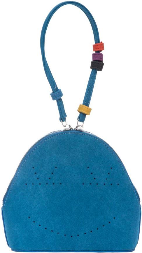 Сумка женская OrsOro, цвет: голубой. D-011/271069с-2Сумка OrsOro выполнена из высококачественной искусственной кожи и оформлена декоративной перфорацией. Изделие оснащено удобной ручкой. Сумка закрывается с помощью молнии. Внутри расположено одно отделение.