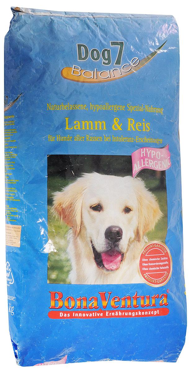 Корм сухой BonaVentura Dog 7 Hipo Allergenic для собак, гипоаллергенный, с бараниной и рисом, 12,5 кг0120710Натуральный гиппоалергенный корм для собак BonaVentura Dog 7 Hipo Allergenic произведен из продуктов, пригодных в пищу человека по специальной технологии, схожей с технологией Sous Vide. Благодаря технологии при изготовлении сохраняются все натуральные витамины и минералы. Это достигается благодаря бережной обработке всех ингредиентов при температуре менее 80 градусов. Такая бережная обработка продуктов не стерилизует продуктовые компоненты. Благодаря этому корма не нуждаются ни в каких дополнительных вкусовых добавках и сохраняют все необходимые полезные вещества.При производстве кормов используются исключительно свежие натуральные продукты: мясо, овощи и зерновые; Приготовлено из 100% свежего мяса, пригодного в пищу человеку; Содержит натуральные витамины, аминокислоты, минеральные вещества и микроэлементы; С экстрактом масла зародышей зерна пшеницы холодного отжима (Bio-Dura); Без химических красителей, усилителей вкуса, искусственных консервантов и химических добавок; Без ГМО; Без мясокостной муки; Без сои.Товар сертифицирован.
