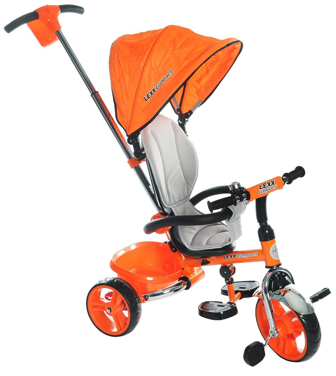 GT Велосипед-каталка GT8763 Lexx Compact цвет оранжевый -  Велосипеды-каталки