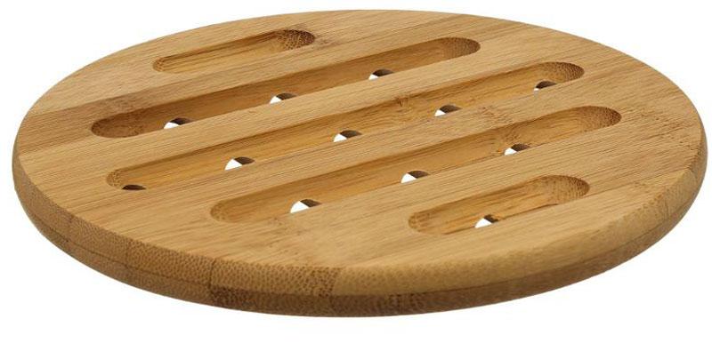 Подставка под горячее JJA, 18 х 18 х 1,5 см115510Это один из самых необходимых аксессуаров для любой хозяйки. Изготовлена из бамбука, легко моется водой, не впитывает запахи, выдерживает высокие температуры, надёжно защитит поверхности Ваших столов. Благодаря оригинальному дизайну станет прекрасным дополнением интерьера Вашей кухни.