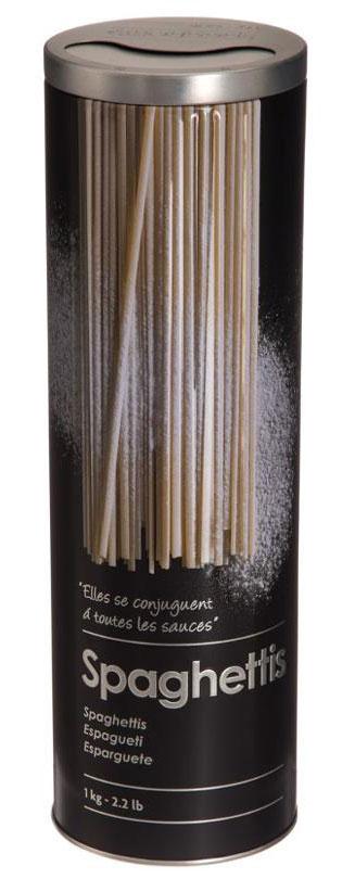 Банка для хранения сыпучих продуктов JJA, 8,5 х 8,5 х 27 смFA-5125 WhiteСтильная металлическая банкаJJA с плотно закрывающейся крышкой удобна и практична в эксплуатации. Она придаст вашей кухне неповторимый шарм. Выдавленный и соответствующим образом окрашенный тематический рисунок вызывает эстетическое наслаждение своим элегантным видом. Стильная надпись на банке, не только указывает её назначение, но и поможет сориентировать в количестве хранимого в ней продукта. Банка для хранения сыпучих продуктов JJA поможет сохранить свежесть и аромат ваших продуктов долгое время.