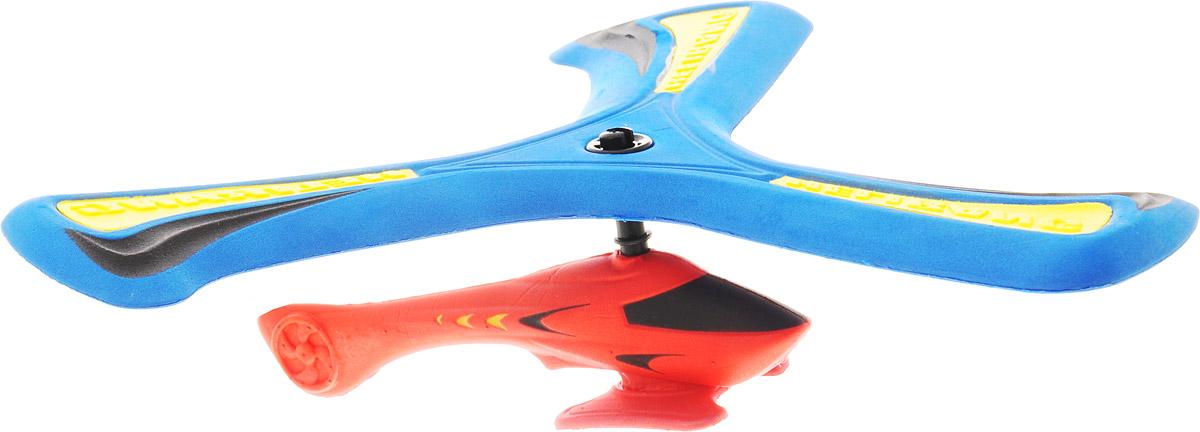 Helirang Бумеранг Zing Air с вертолетом цвет синий красный