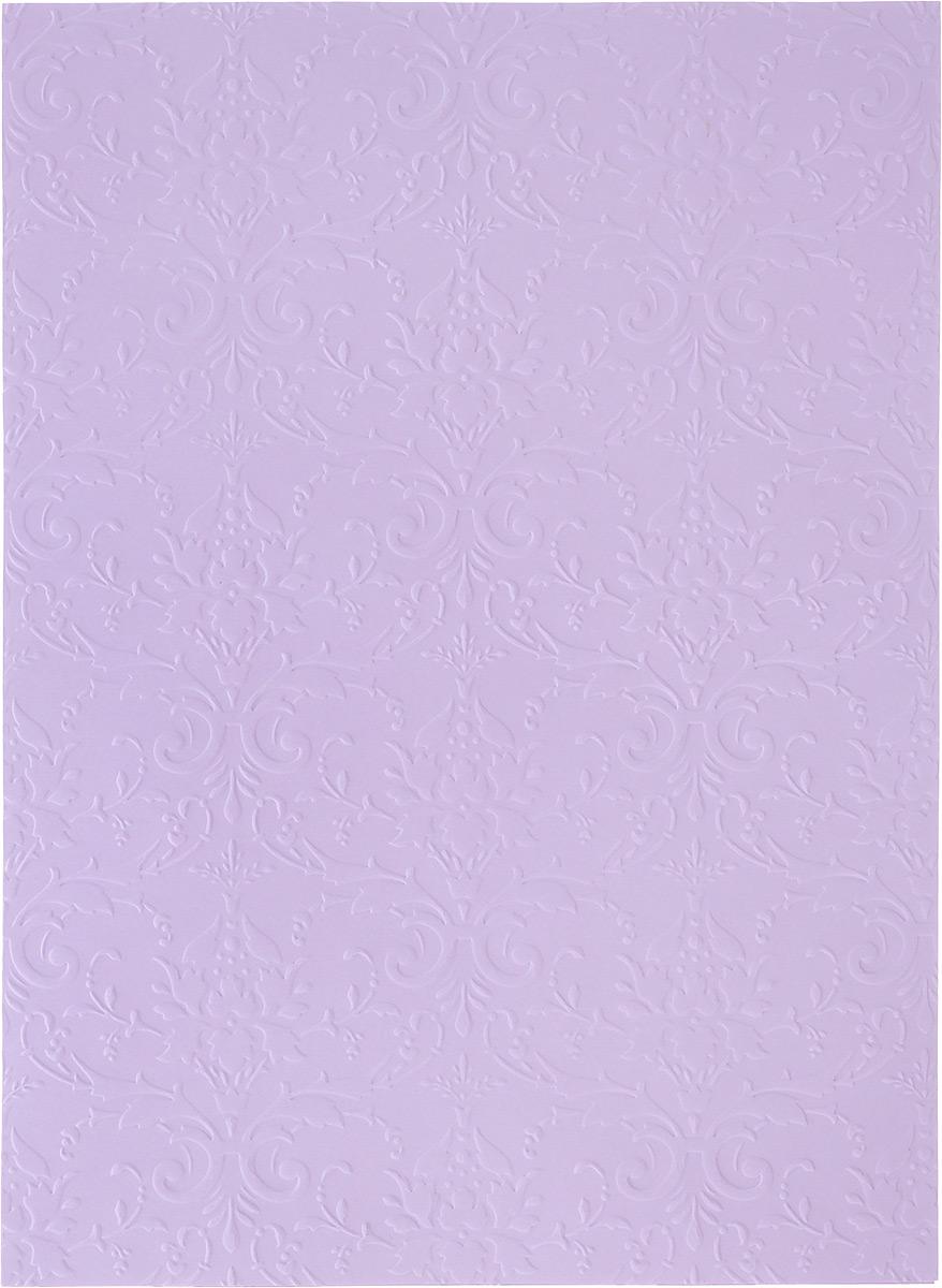 Бумага фактурная Лоза Дамасский узор, цвет: ярко-сиреневый, 3 листаC0042416Фактурная бумага для скрапбукинга Лоза Дамасский узор позволит создать красивый альбом, фоторамку или открытку ручной работы, оформить подарок или аппликацию. Набор включает в себя 3 листа из плотной бумаги.Скрапбукинг - это хобби, которое способно приносить массу приятных эмоций не только человеку, который этим занимается, но и его близким, друзьям, родным. Это невероятно увлекательное занятие, которое поможет вам сохранить наиболее памятные и яркие моменты вашей жизни, а также интересно оформить интерьер дома. Плотность бумаги: 200 г/м2.